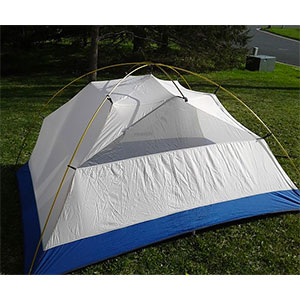 photo: Sierra Designs Half Moon 3 three-season tent