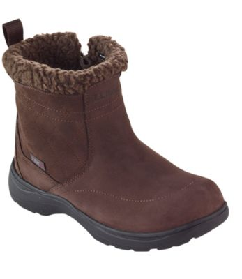 photo: L.L.Bean Bethel Waterproof Insulated Zip winter boot