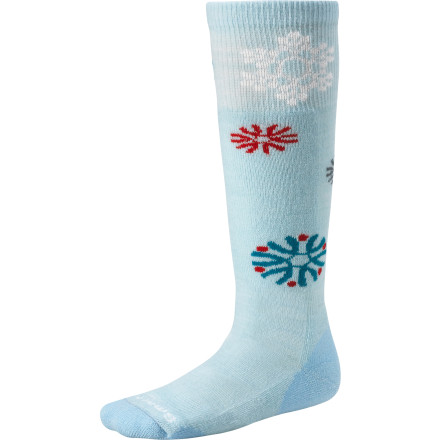 photo: Smartwool Wintersport Snowflake Sock snowsport sock