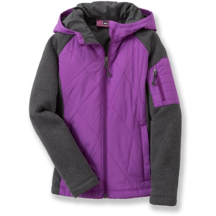 REI Mossyrock Sweater Fleece Jacket