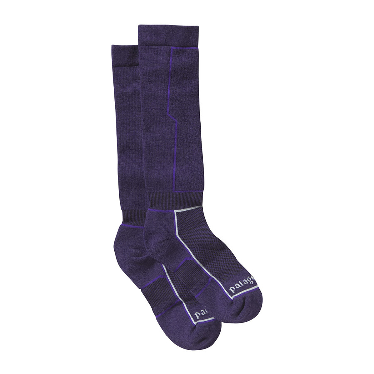 photo: Patagonia Lightweight Ski Sock snowsport sock