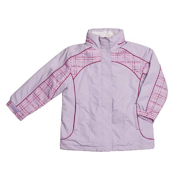 White Sierra Header Jacket