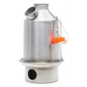 photo: Kelly Kettle Stainless Steel Scout wood stove