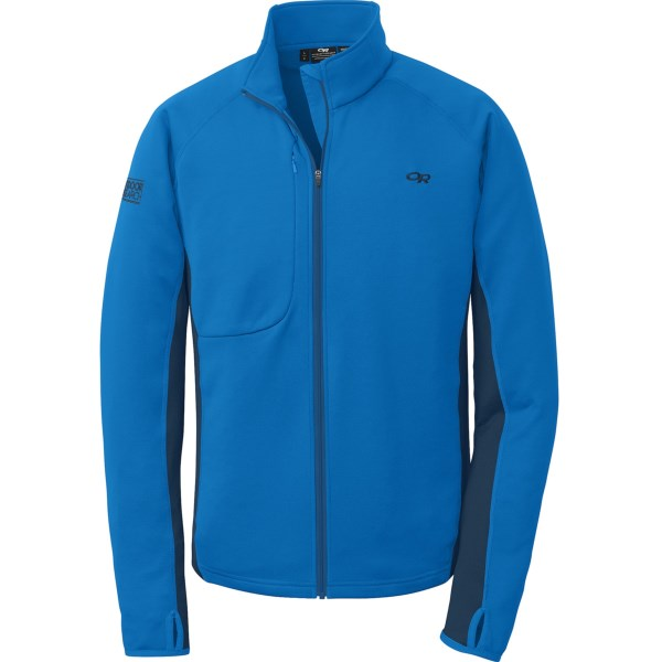 photo: Outdoor Research Radiant Hybrid Jacket fleece jacket