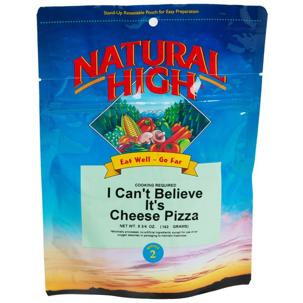Natural High Cheese Pizza