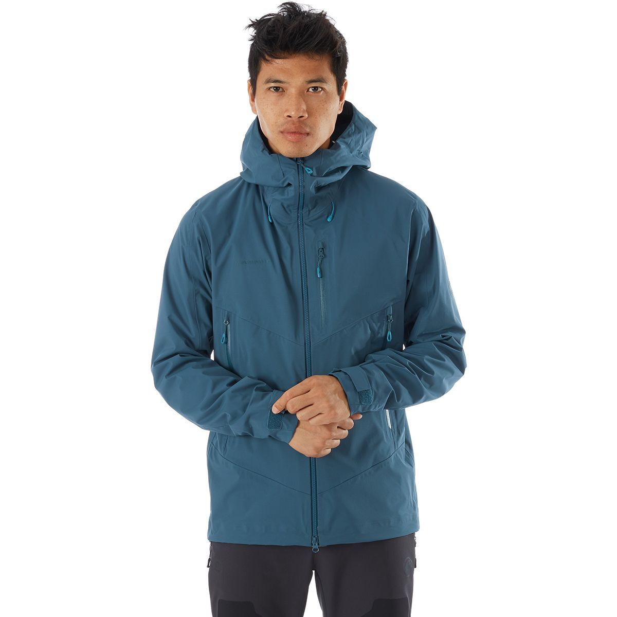 photo: Mammut Kento HS Hooded Jacket waterproof jacket