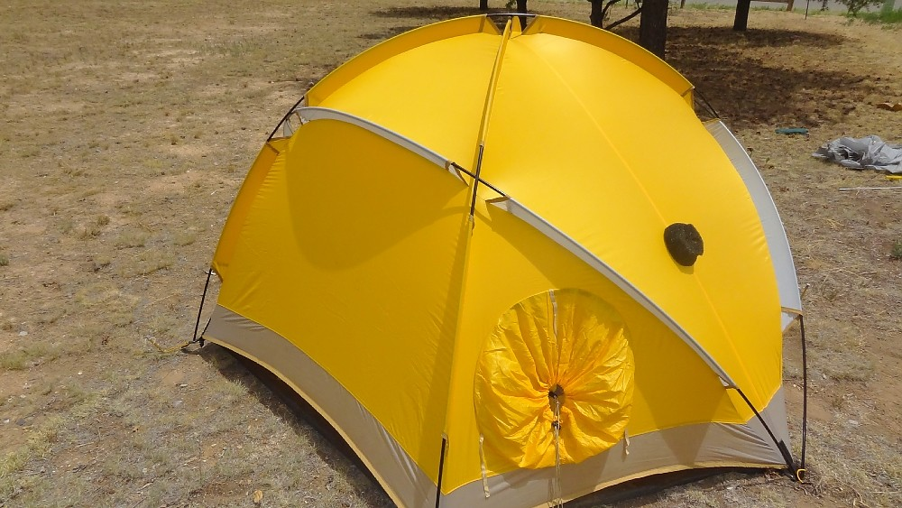 photo: The North Face VE 24 four-season tent