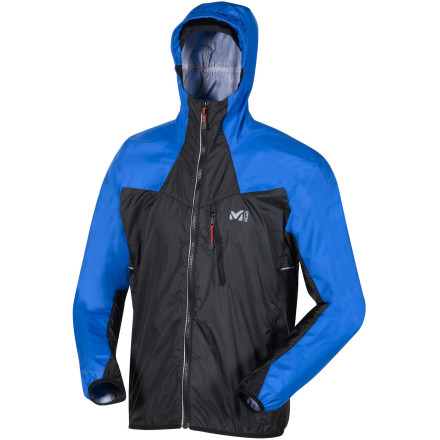 photo: Millet L.T.K. Composite Jacket water resistant shell
