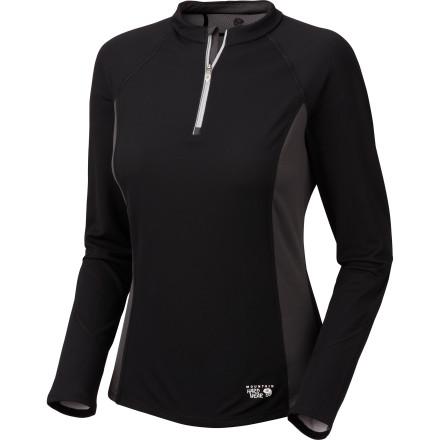 photo: Mountain Hardwear Alina 1/4 Zip Shirt long sleeve performance top