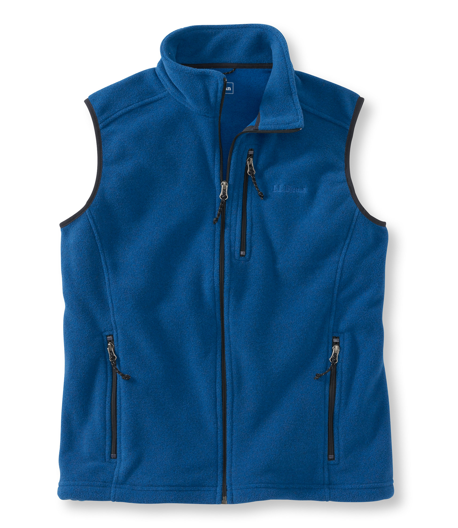 photo: L.L.Bean Men's Trail Model Fleece Vest fleece vest