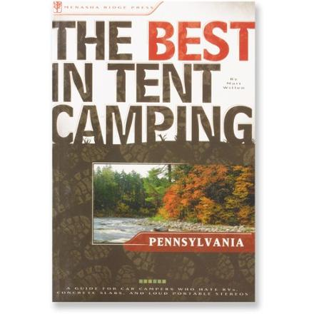 Menasha Ridge Press The Best in Tent Camping: Pennsylvania