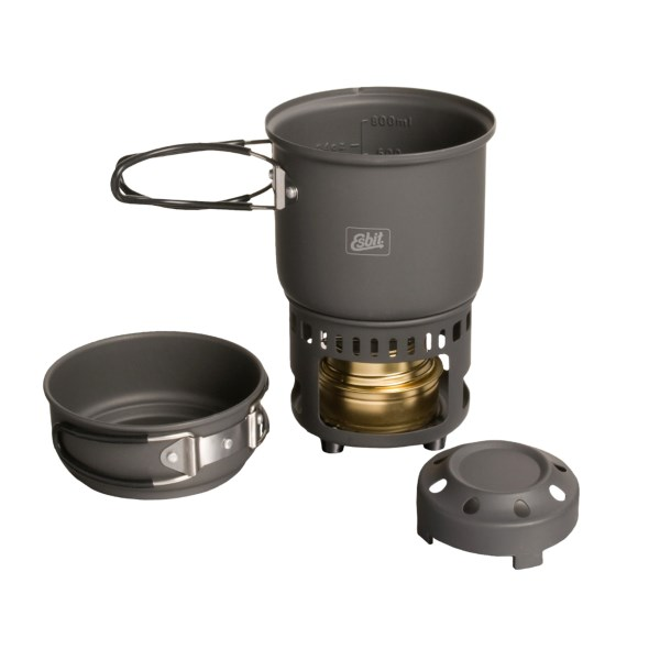 Esbit Solid Fuel Stove & Cookset CS585HA