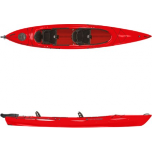 photo: Wilderness Systems Pamlico 145T Tandem with Rudder recreational kayak