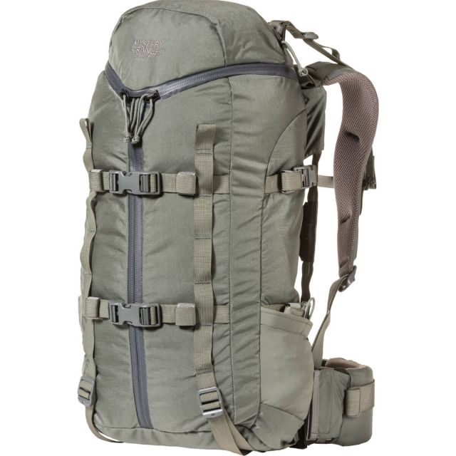photo: Mystery Ranch Pintler external frame backpack