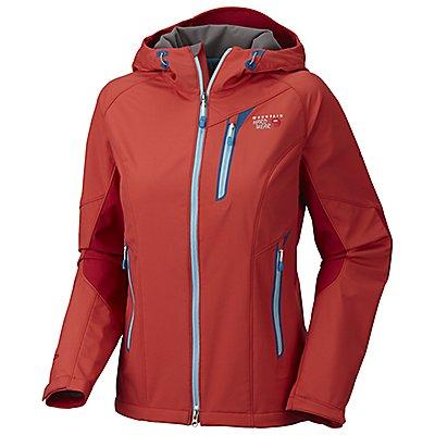 photo: Mountain Hardwear Women's Embolden Jacket soft shell jacket