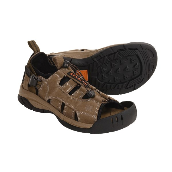 photo of a Korkers sport sandal