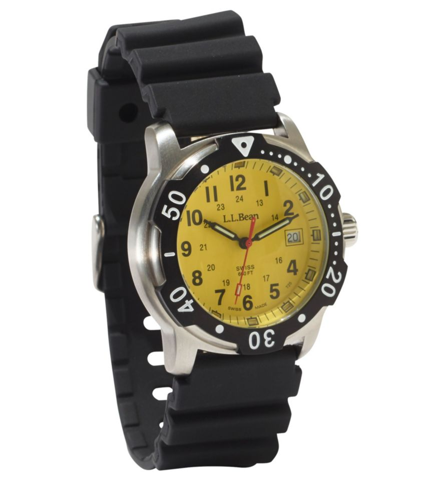 photo: L.L.Bean Self-Illuminating Sport Watch analog watch