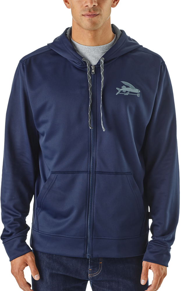 photo: Patagonia PolyCycle Full-Zip Hoody fleece top