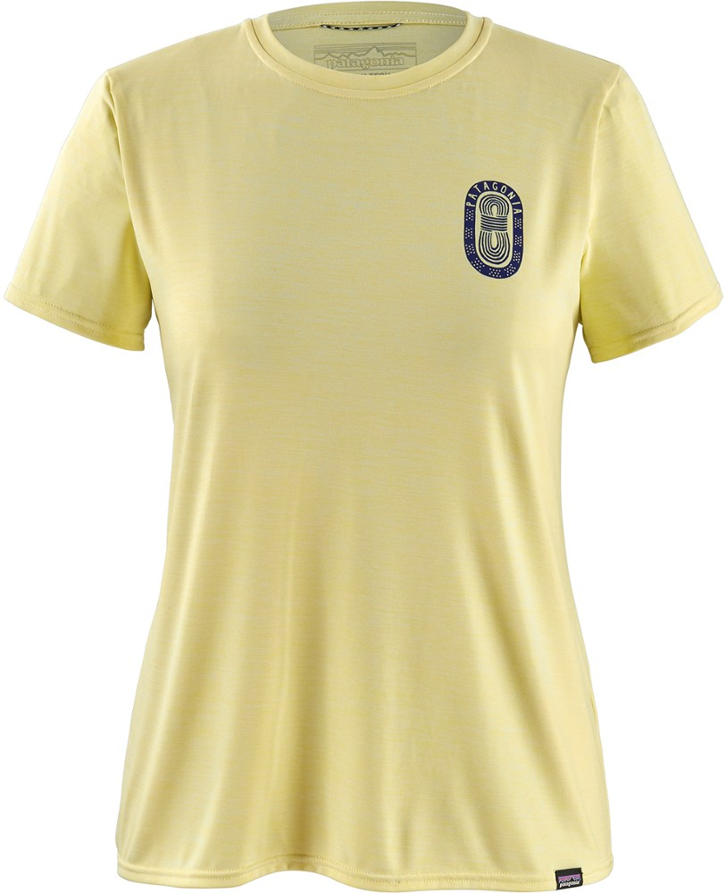 photo: Patagonia Women's Capilene Cool Daily Graphic Shirt short sleeve performance top