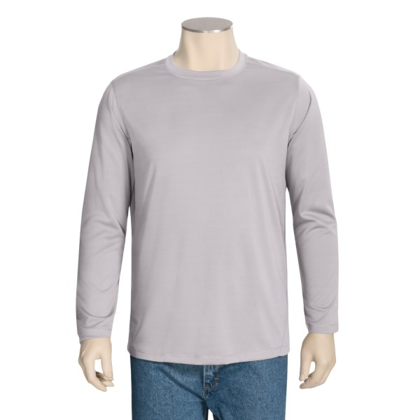 White Sierra Rim Trail Shirt - Long Sleeve