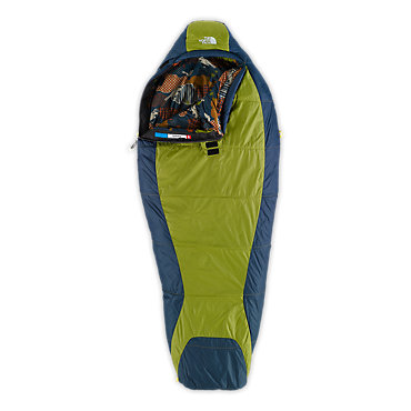 photo: The North Face Tigger 3-season synthetic sleeping bag