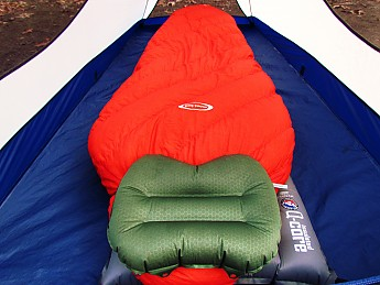 the exped comfortfoam pillow is a staple of my sleep system i am pretty sure that i have one of the most comfortable backcountry beds out there with the