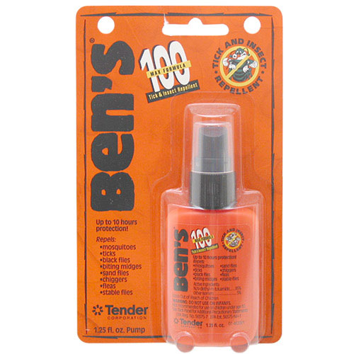 photo: Tender Ben's 100 Max Deet Tick & Insect Repellent insect repellent
