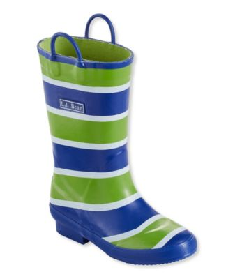 photo: L.L.Bean Boys' Puddle Stompers Rain Boots winter boot