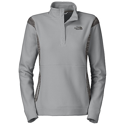 photo: The North Face TKA 100 Microvelour Snapneck fleece jacket