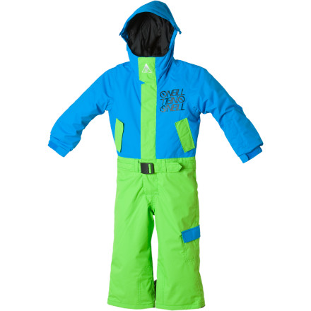 photo: O'Neill Bacon Snow Suit kids' snowsuit/bunting
