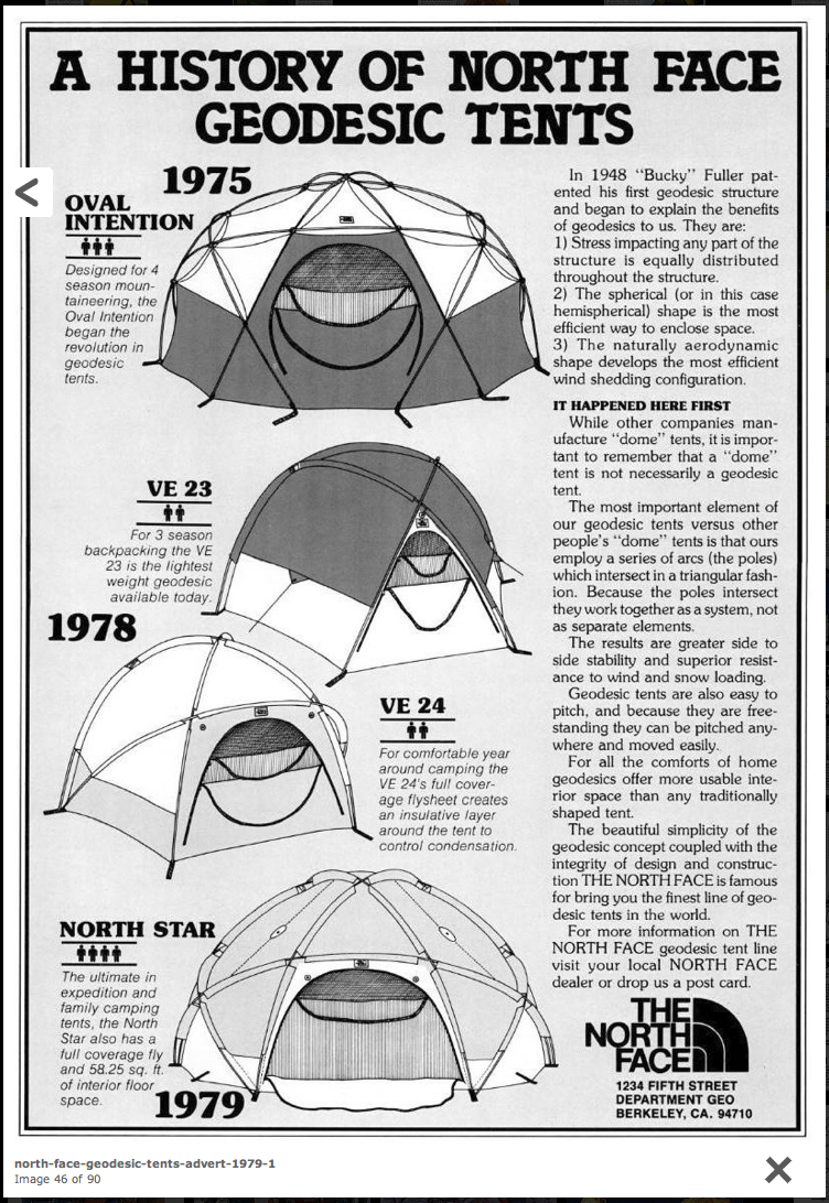 photo: The North Face North Star four-season tent