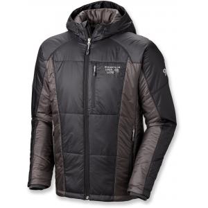 photo: Mountain Hardwear Men's Hooded Compressor Jacket synthetic insulated jacket