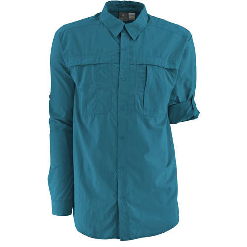 photo: White Sierra Men's Kalgoorlie Shirt hiking shirt