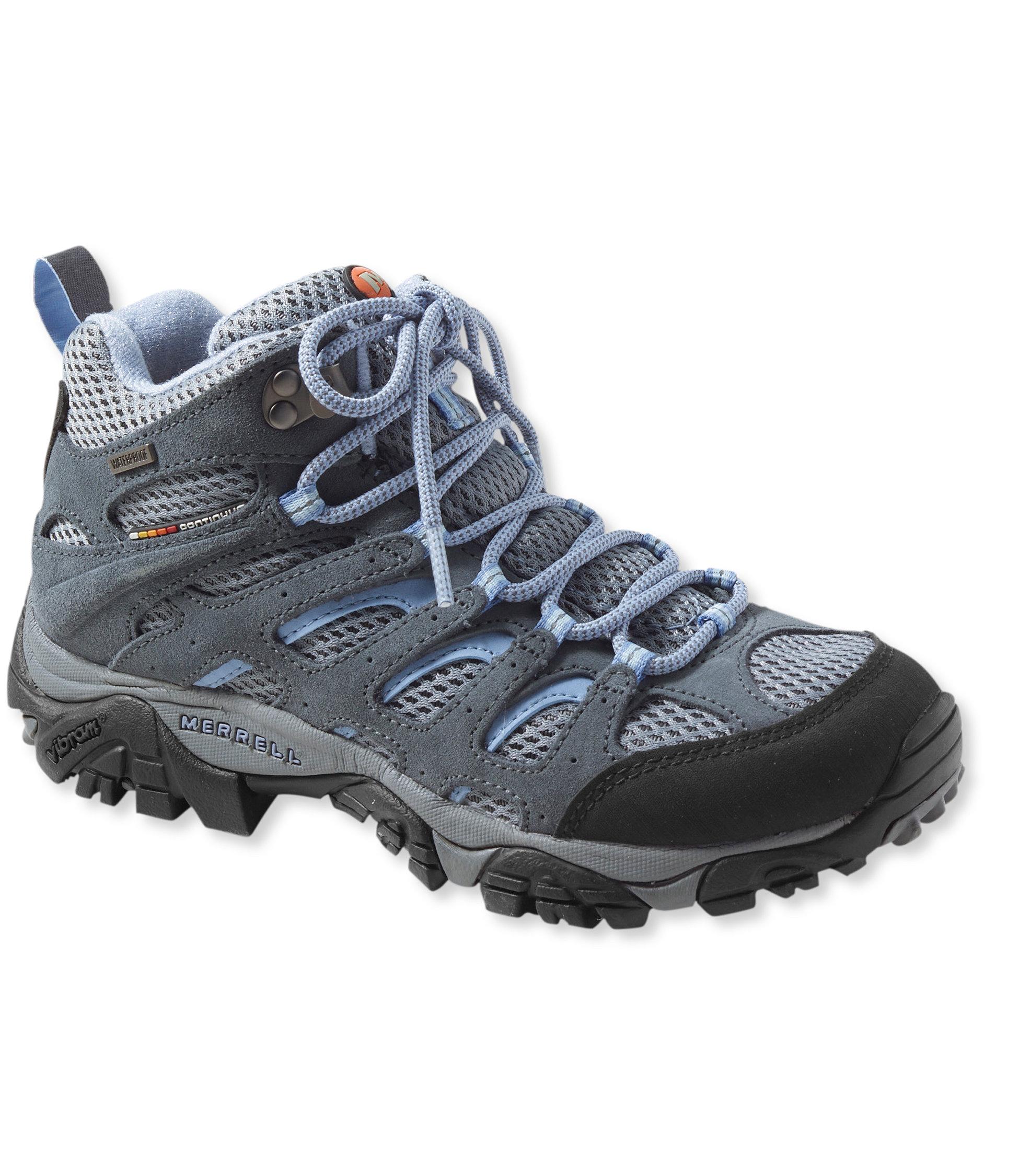 photo: Merrell Women's Moab Mid Waterproof hiking boot