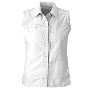 photo: Mountain Hardwear Canyon Shirt - Sleeveless hiking shirt