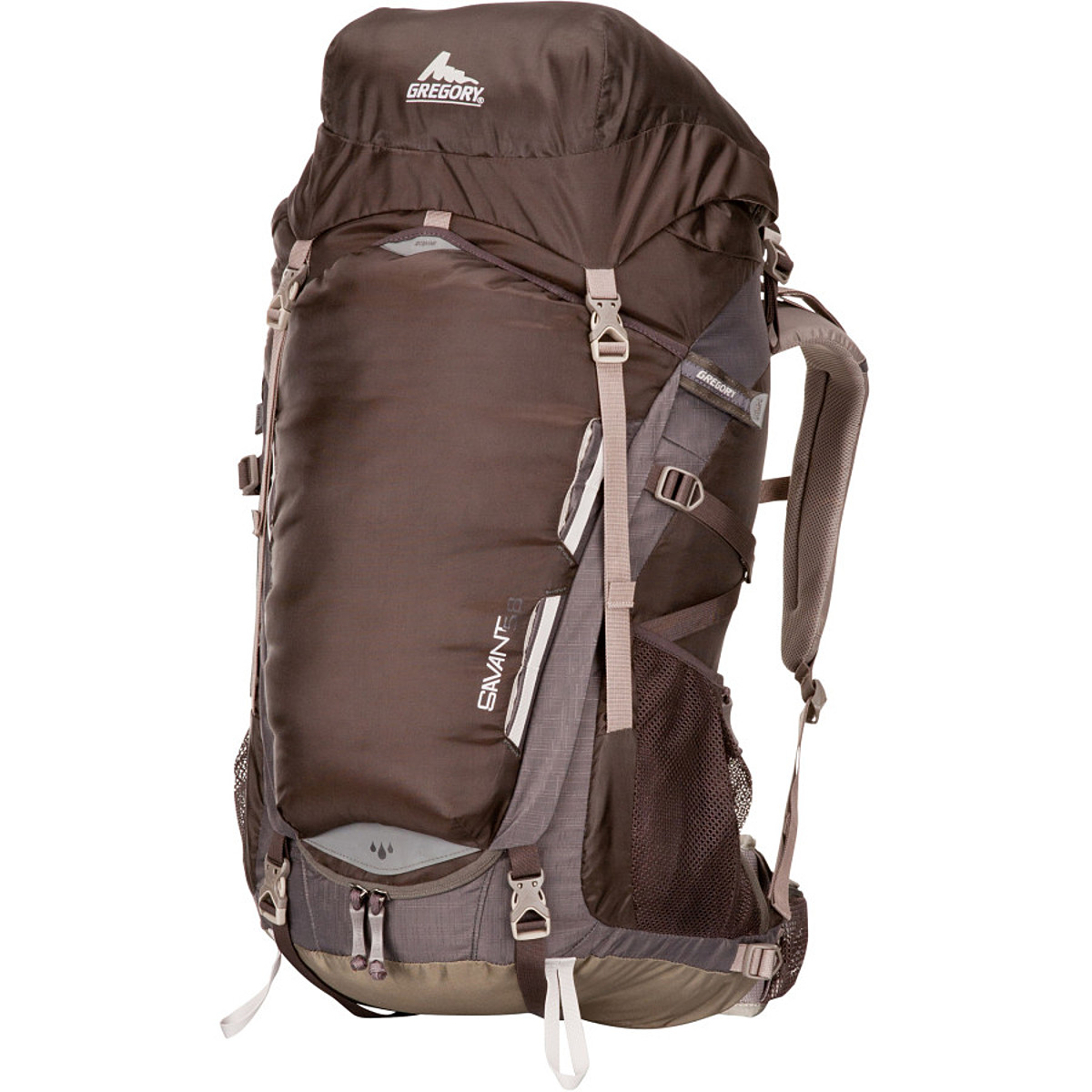 photo: Gregory Savant 58 weekend pack (50-69l)
