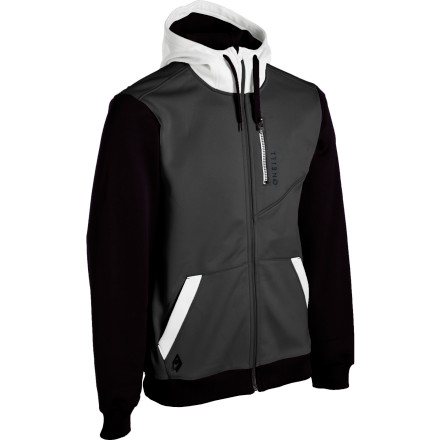 photo: O'Neill District Hydro Full-Zip Hoody fleece jacket