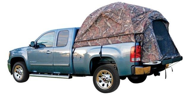 photo: Napier Sportz Camo Truck Tent 57 Series roof-top tent