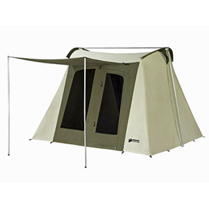 photo: Kodiak Canvas 10x10 Flex-Bow Canvas Tent Deluxe four-season tent