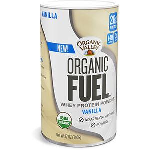 photo:   Organic Valley Organic Fuel Whey Protein Powder snack/side dish