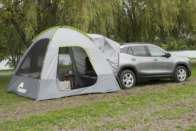 photo: Napier Backroadz SUV Tent roof-top tent