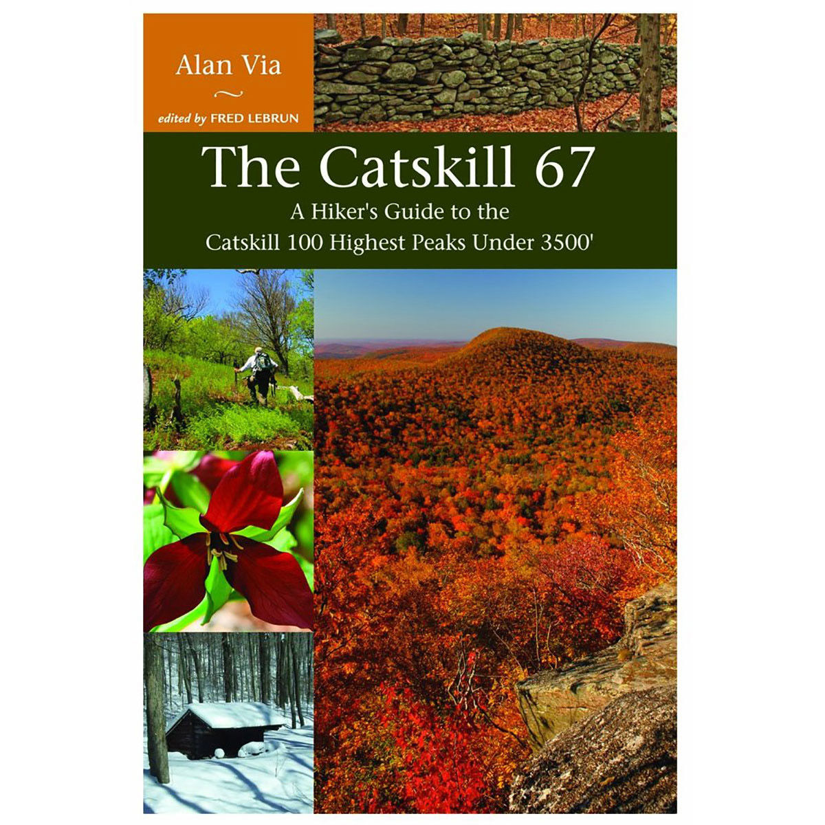 photo: Adirondack Mountain Club The Catskill 67 us northeast guidebook