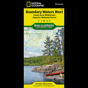 National Geographic Boundary Waters West - Superior National Forest Map