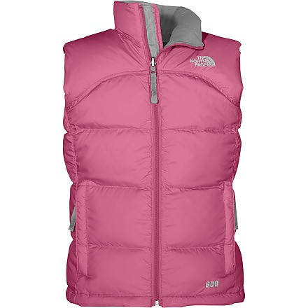 photo: The North Face Girls' Nuptse Vest down insulated vest