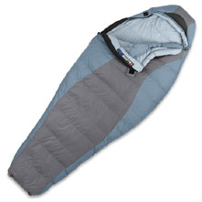 photo: The North Face Women's Chrysalis 3-season down sleeping bag