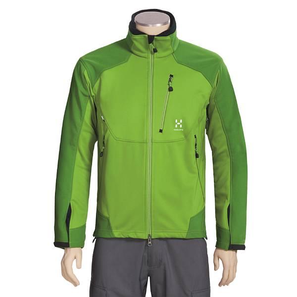 photo: Haglofs Men's Massif Jacket soft shell jacket