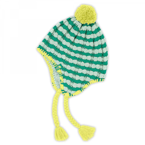 photo: The North Face Girls' Fuzzy Earflap Beanie winter hat