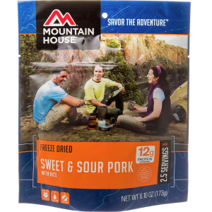 photo: Mountain House Sweet & Sour Pork with Rice meat entrée