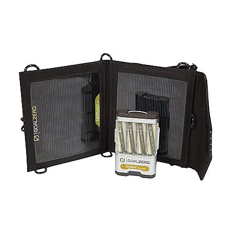 photo: Goal Zero Guide 10 Plus Mobile Kit solar charger