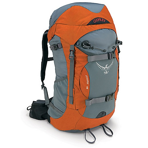photo: Osprey Stratos 40 overnight pack (35-49l)